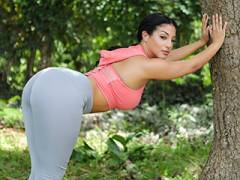 Orgasmic Ebony Exercise