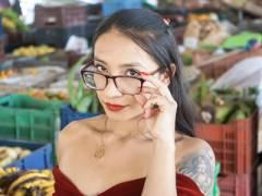 Nerdy Latina Nymphomania