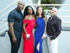 Interracial Prom Pussy