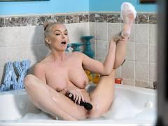 Bubble Bath MILF Bone